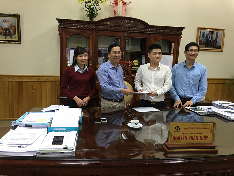 LILAMA 69-3., JSC signed contracts with Xuan Thanh Joint Stock Company
