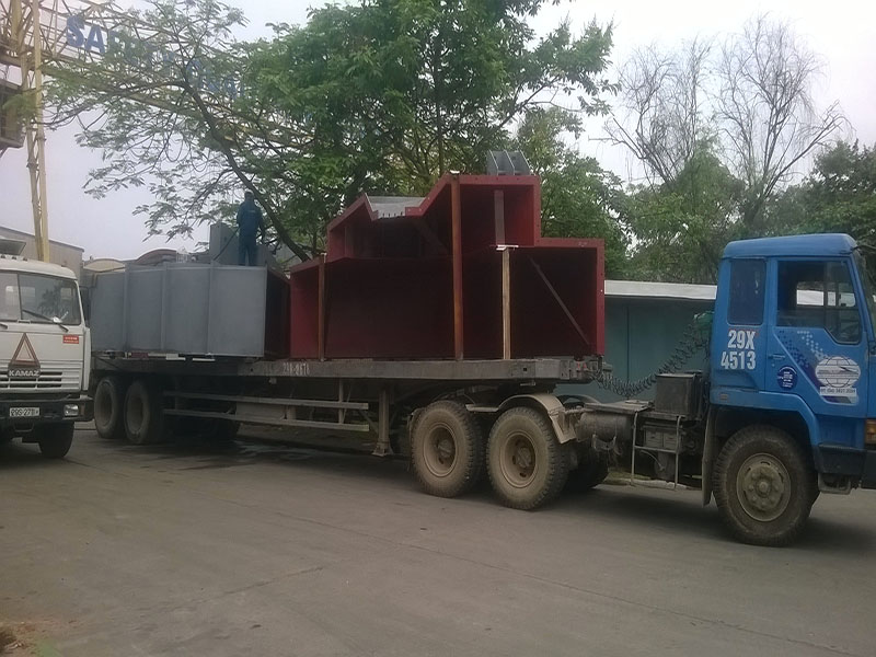 First batch of goods were already dispatched to site, Xuan Thanh Cement Plant