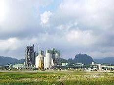 Thang Long Cement Plant produces the first clinker product